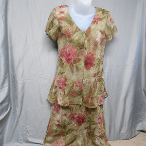 Jessica Howard floral long dress 6